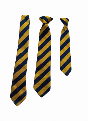 Downham Tie - Black/Gold
